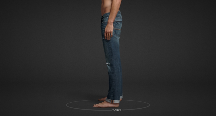 Mens skinny jeans from Abercrombie & Fitch.