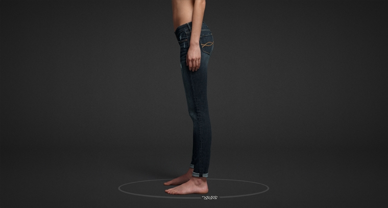 Shop Abercrombie & Fitch Super Skinny Jeans for women.