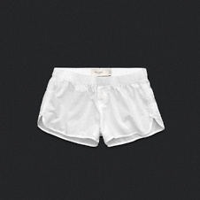 Womens Dot Sleep Shorts