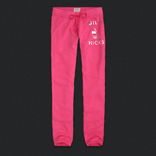 Womens Gilly Hicks Lightweight Banded Sweatpants