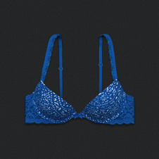 Super Push 'Em Up Plunge Bra