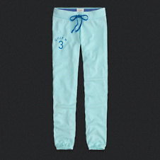 Womens Gilly Hicks Classic Banded Sweatpants