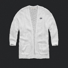 Womens Open Closure Cardigan