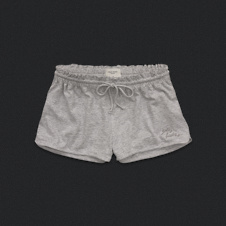 Womens Highwaisted Knit Shorts