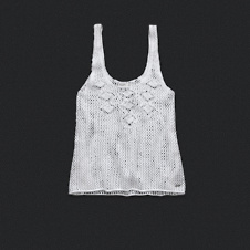 Womens Crotchet Sweater Tank