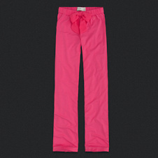 Womens Tied Bow Sleep Bottoms