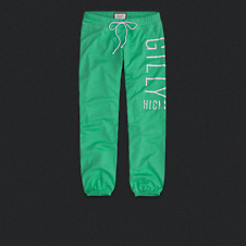 Womens Gilly Hicks Banded Crop Sweatpants