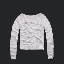 Womens Embroidered Sweatshirt