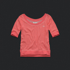 Womens Colorblocked Tee