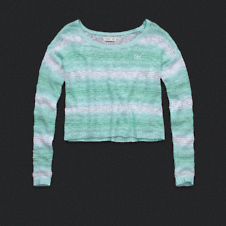 Womens Ombre Stripe Sweater