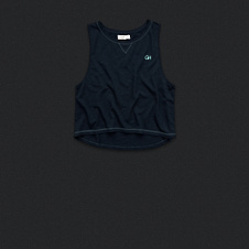 Womens Athletic Cropped Tank