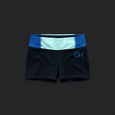 Womens Gilly Hicks Yoga Shorts