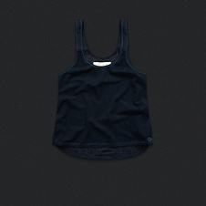 Womens Lace Back Sleep Tank