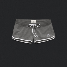 Womens Sporty Knit Shorts