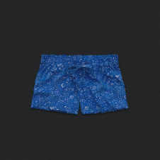 Womens Printed Sleep Shorts