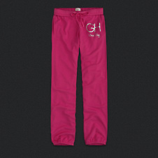 Womens Gilly Hicks Banded Boyfriend Sweatpants