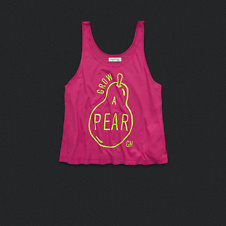 Womens Cheeky Statement Graphic Tank