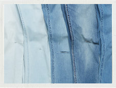 Denim Wash Jeans Polaroid