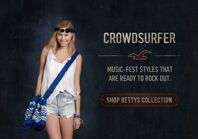 Shop the Holister Co. Crowdsurfer collection!