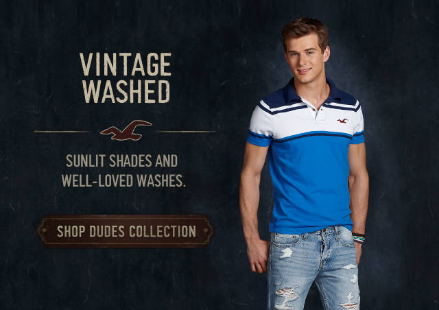 Shop the Hollister Co. Vintage Washed Collection!