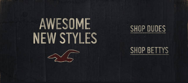 Shop the Hollister Co. New Arrivals Collection!