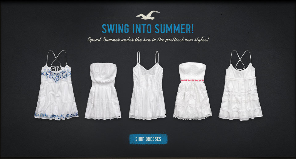 Shop the cutest dresses for summer!
