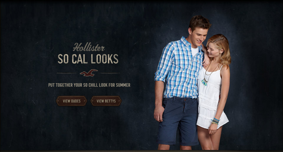 Shop the Hollister Co. So Cal Looks collection!