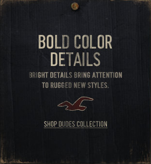 Shop the Dudes bold color details collection in stores or online!