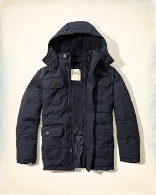Channel Quilted Parka