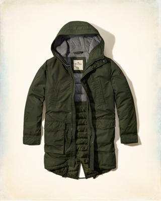 Hollister Fishtail Parka