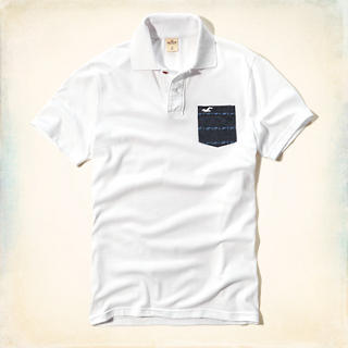 Pattern Pocket Polo
