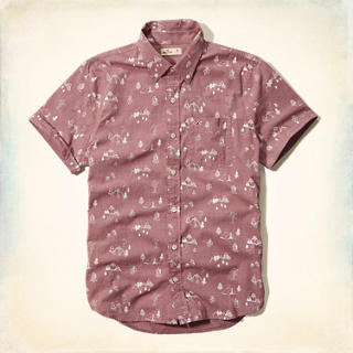 Pattern Pocket Shirt