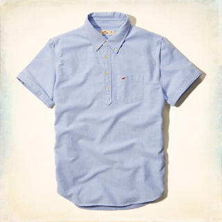 Oxford Pullover Pocket Shirt
