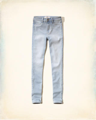 Hollister Just Like Knit High Rise Jean Leggings