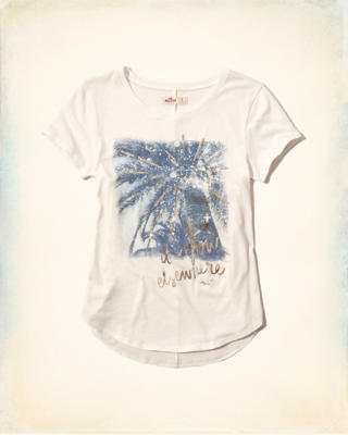 Palm Tree Shine Graphic Tee