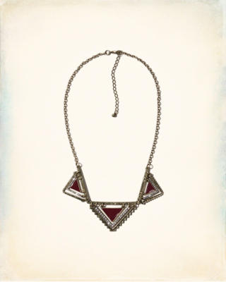 Shine Triangle Necklace