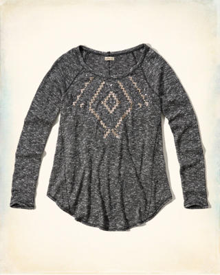 Embellished Easy Tee