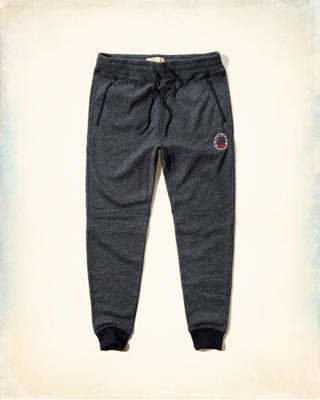 Hollister Logo Fleece Jogger Pants