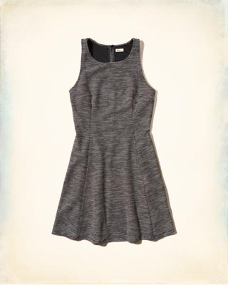 Boucle Skater Dress