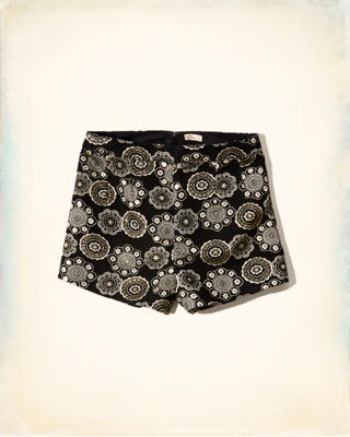 Shine Jacquard Shorts