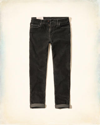 Hollister Classic Taper Corduroy 5 Pocket Pants