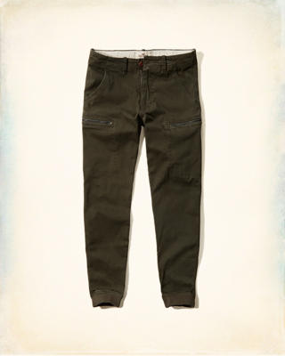 Hollister Cargo Twill Jogger Pants