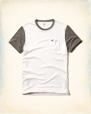 Must-Have Contrast Detail Tee