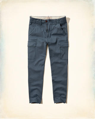 Hollister Skinny Cargo Zipper Fly Pants