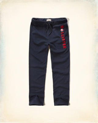 Hollister Logo Graphic Fleece Sweatpants