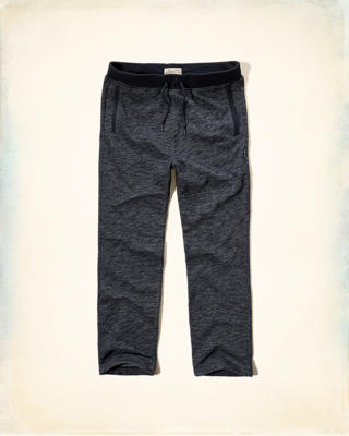 Hollister Contrast-Trim Fleece Sweatpants
