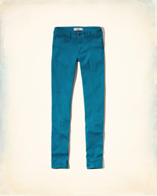 Hollister Super Skinny Utility Pants