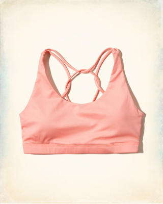 Hollister Cali Sport Strappy Back Sports Bra