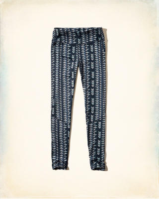 Hollister Patterned Leggings