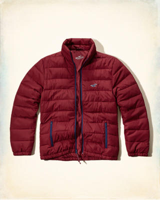 Mock Neck Puffer Jacket